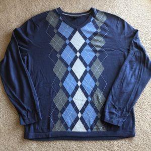 Banana Republic sweater in silk/cotton/cashmere L